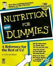 Nutrition for Dummies Rinzler, Carol Ann Paperback