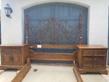 vintage drexel heritage furniture Cal king bedroom set