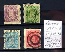 DENMARK 1875/94 As Described FP9509