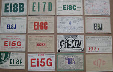 IRELAND Early Amateur Radio QSL Cards Job Lot of 16 Different all from 1930s