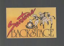 Carlos Santana Vintage Backstage Pass