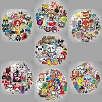 Lot of 100 Car Stickers Wall Bomb Laptop Luggage Decals Dope Sticker Mix Pattern
