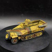 Painted 28mm bolt action 1/56 sdfkz 251/10 Pak36 half-track Ww2