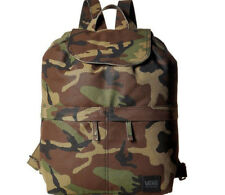 Vans Lakeside Backpack School Bag Book Camo Camouflage Green New NWT