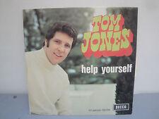 Vinyle 45 Tours - Tom Jones - Help Yourself - 1968