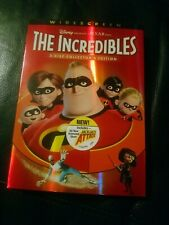 The Incredibles (Dvd, 2004) 2 disc Collectors Edition ship free 🆓