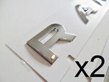 Range Rover chrome Letters badge letters Boot Bonnet Hood Vogue P38 L322 sport