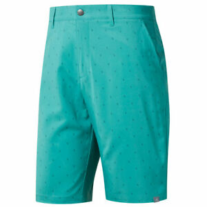 adidas Golf Mens Ultimate365 Pine Cone Critter Print Water Resistant Shorts