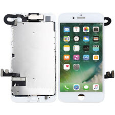 White LCD For iPhone 7 Screen Digitizer Assembly Camera+Ear Speaker Replacement