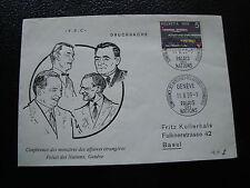 SUISSE - enveloppe 11/5/1959 (cy57) switzerland