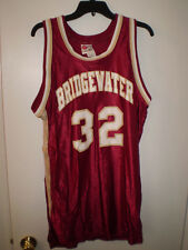Bridgewater College Eagles Jersey Basketball Rawlings Adult L Large Size 44 +2''