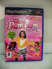 JEU PS2  EYETOY PLAY POMPOM PARTY  COMPLET