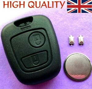 For Toyota Aygo 2 Button Remote Key Fob Case Shell Full Repair Kit
