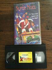 VHS  WALT DISNEY PICURES   «SUPER NOEL»   AVEC HOLOGRAMME
