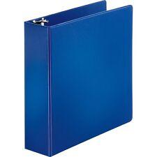 """3 Ring Binder. 3"""" Binder Capacity.  8 1/2"""" x 11"""" Sheet Size. Blue."""