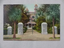 Vintage Postcard Entrance To Winchester Home San Jose CA Unposted
