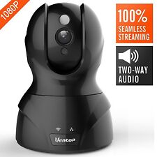 Ventop Beats YI Dome Camera 1080p HD Pan/Tilt/Zoom Wireless IP 2 Way Audio Night