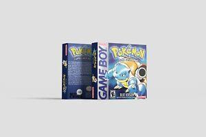 Pokemon Blue / Blau [Game Boy] Repro Ersatzbox | Leerbox | Replacement Box