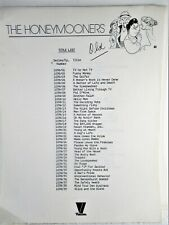 """""""THE HONEYMOONERS""""  TV SHOW, EPISODE LIST, STARS & CHARACTERS, STORY LINES"""