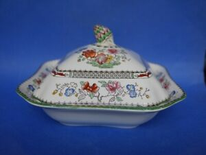 Spode Copeland Chinese Rose Covered Casserole Vegetable Tureen