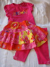 ensemble fille ~~  2 ans  ***CATIMINI*** Spirit Ethnique (jupe -t-shirt,...)
