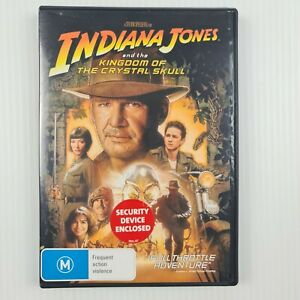 Indiana Jones and the Kingdom of the Crystal Skull DVD - Region 4 - TRACKED POST