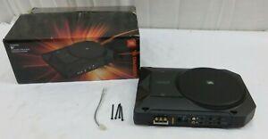 """JBL - BassPro SL 8"""" Loaded Subwoofer Enclosure with Integrated 125W Amp - Black"""