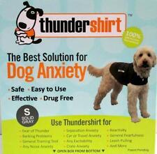 thundershirt SMALL dog anxiety grey/solid grey thunder shirt