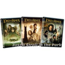 Lord of the Rings Trilogy: Fellowship + Two Towers + Return King Box/DVD Sets