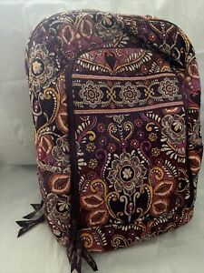 Vera Bradley Safari Sunset Laptop Backpack
