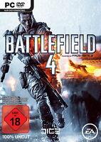 Battlefield 4 (PC, 2013, DVD-Box) 100 % uncut deutsche Version Neu OVP deutsch