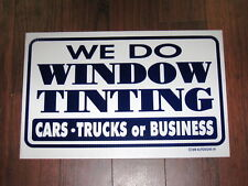 Any Service Shop Sign: We Do Window Tinting