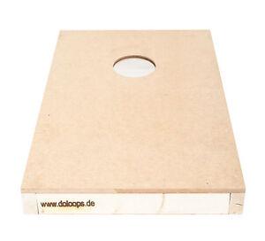 Original Cornhole Board - Cornhole Spielbrett (natur, farblos) aus Massivholz