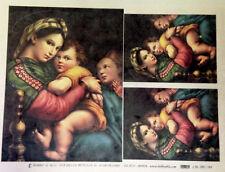 HOBBY & BLU - CARTA DI RISO DA DECOUPAGE - CAL 200/184 - 30x40cm