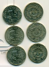 3 NICE 5 PISO COINS from the PHILIPPINES (1997, 1998 & 2003)
