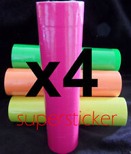 40 Roll X 500 Tag label Refill Common Price Gun Pink