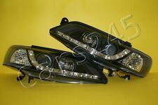 Opel Vectra B Scheinwerfer Paar links rechts Tuning schwarz Tagfahrlicht 1999 -