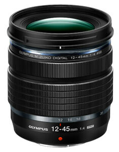 Olympus M. Zuiko ED 12-45mm f/4 PRO Standard Lens for Four Thirds