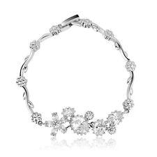 Swarovski Element Crystal 18k White Gold GP Paris Dream Bracelet B0224