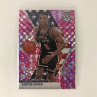 2019-20 Panini Mosaic SCOTTIE PIPPEN USA Basketball Pink Camo Chicago Bulls