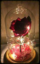 La BELLA E LA BESTIA incantato ROSE * Frosty versione * compleanni/matrimoni ecc.
