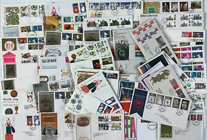Collection of 60+ GB FDCs.
