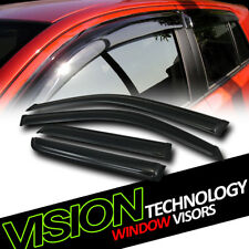 For 03-09 Toyota 4Runner Rain/Wind Guard Dark Vent Shade Deflector Window Visors