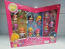 Famosa 700011637 Pinypon 10 figuras + 30 accesorios - New Sealed