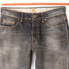 Homme HUGO BOSS Orange 25 Regular Droit Gris Jeans W32 L34
