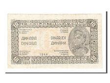 [#154860] Yougoslavie, 10 Dinara type 1944