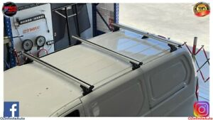 Set of 3 Heavy Duty Silver Roof Racks Suit Hyundai iLoad 2007-2020
