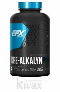 (21,06 Euro/100g) EFX Kre-Alkalyn Pro 120 Kapseln