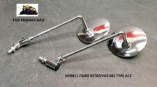RETROVISEURS MOTO ROND CHROME MIR811 DUCATI