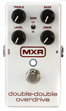 Jim Dunlop MXR Double Double Overdrive Guitar or Bass Effect Pedal M250 - NEW!